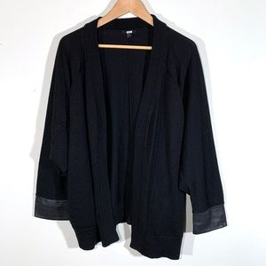 COS | 100% Wool Draped Dolman Sleeve Cardigan